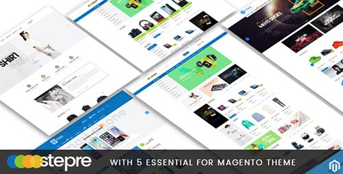 ThemeForest - Stepre v1.0 - Multipurpose Responsive Magento Theme - 14144965