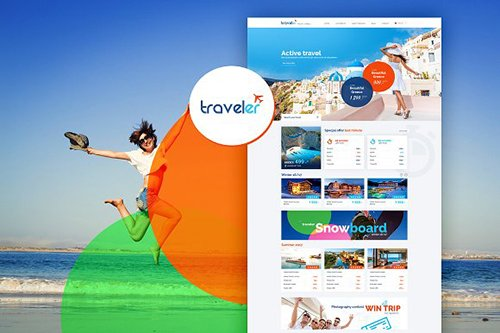 Travel Agency - beautiful design - CM 1145700