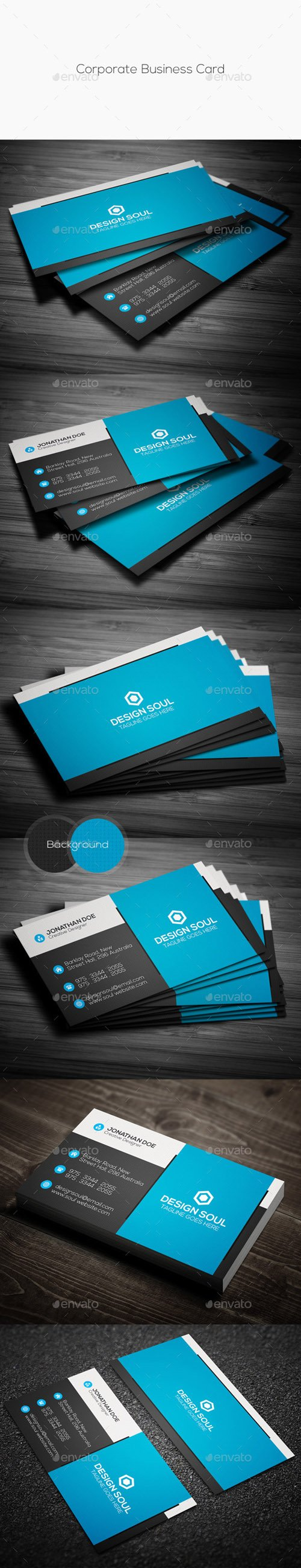 GR - Corporate Business Card 11718457