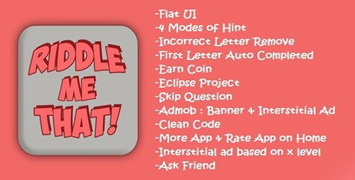 CodeCanyon - Riddle Me That v1.0 - 10648192