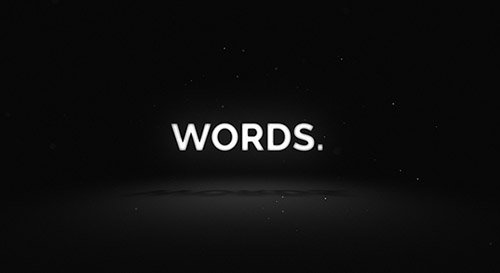Words - Media Opener - Project for After Effects (Videohive)
