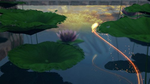 Lotus Pond Opener - Project for After Effects (Videohive)