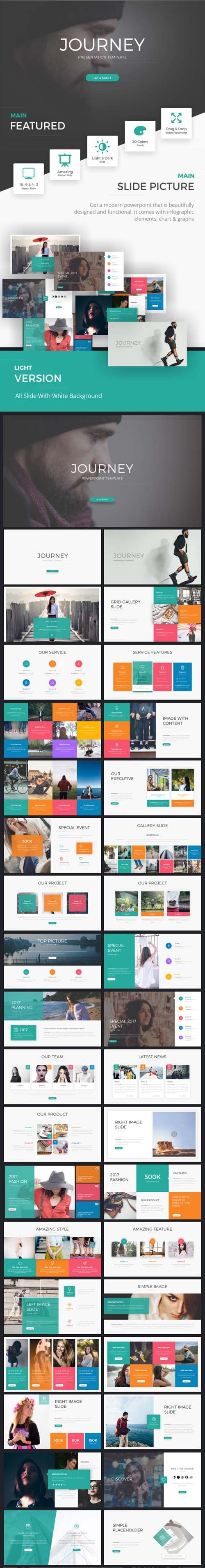 Journey Presentation Template 19349511