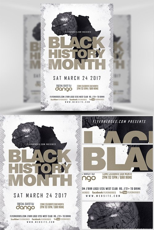 Flyer Template - Black History Month