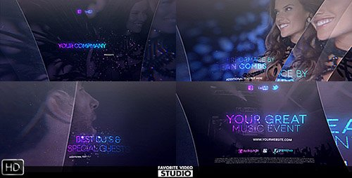 The Great Music Event - Project for After Effects (Videohive)