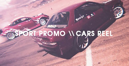 Sport Promo - Cars Reel - Project for After Effects (Videohive)
