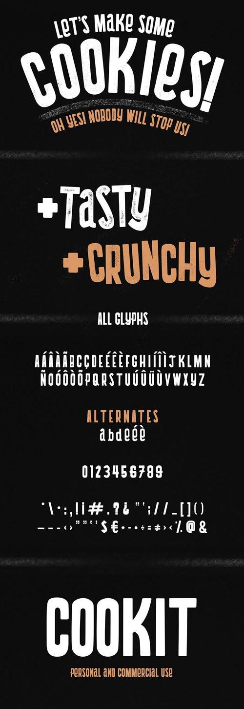 Cookit Sans Serif Font