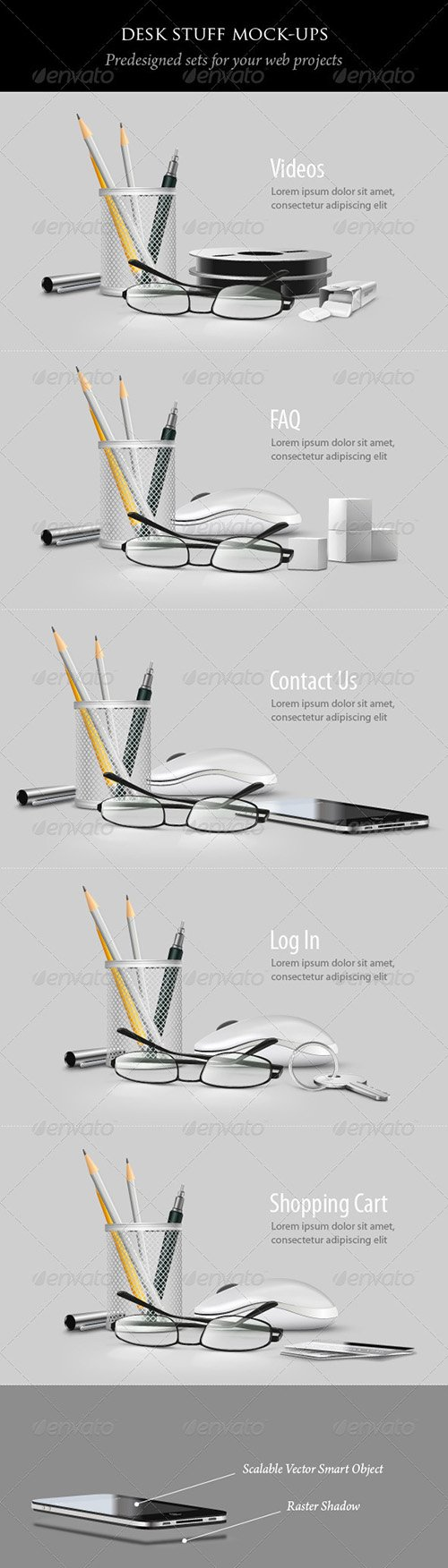 GraphicRiver - Desk Stuff - 2372679