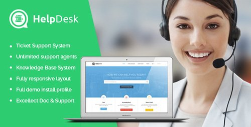 ThemeForest - HelpDesk v1.5 - Ticket Support & Knowledge Drupal Theme - 9329514