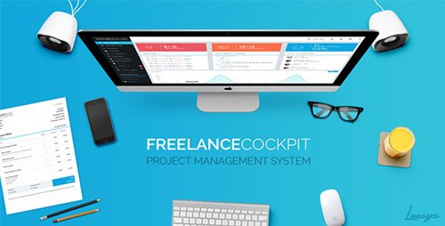 CodeCanyon - Freelance Cockpit 3 v3.0.5.1 - Project Management and CRM - 4203727