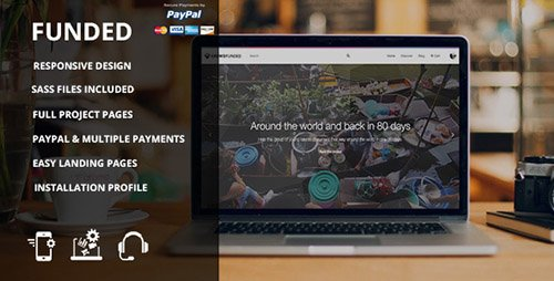 ThemeForest - Funded - Drupal Crowdfunding Commerce Site (Update: 13 October 16) - 12131886