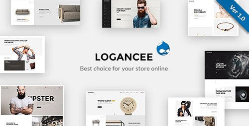 ThemeForest - Logancee - Multipurpose Responsive Drupal Theme (Update: 28 February 17) - 15125755
