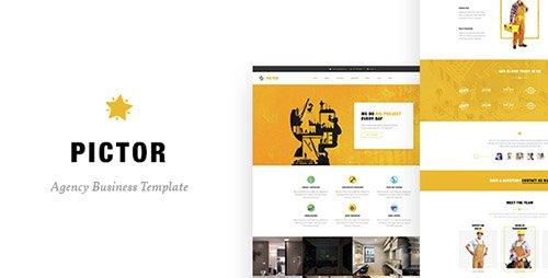 ThemeForest - Pictor - Drupal Construction, Building Business template (Update: 6 February 17) - 16660050