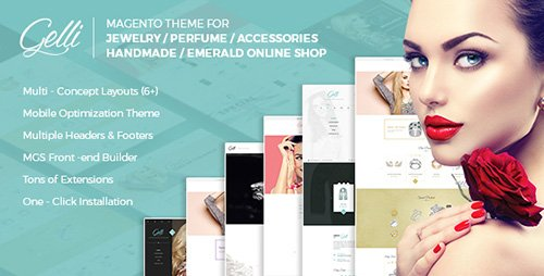ThemeForest - Gelli v1.0.8 - Magento 2&1 Theme for Jewelry / Perfume / Accessories Online Shop - 17956110