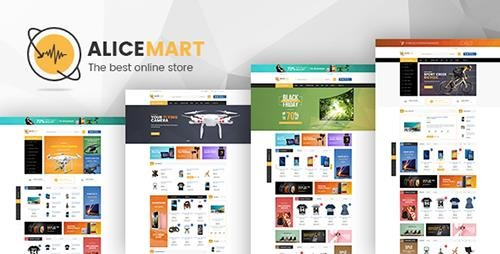 ThemeForest - Alice v1.0 - Multipurpose Responsive Prestashop Theme - 19461117