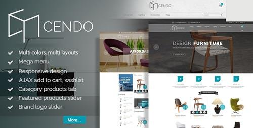 ThemeForest - Cendo v1.0 - Responsive Prestashop Furniture Theme - 12606965