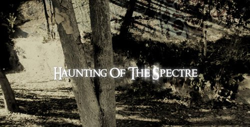 Haunted Horror Titles Project - Project for After Effects (Videohive)