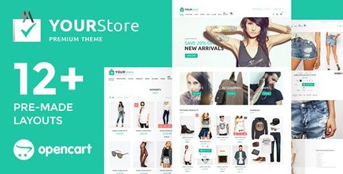 ThemeForest - YourStore v2.3.0.7 - OpenCart theme - 16754918