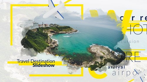 Travel Destination Slideshow - Project for After Effects (Videohive)