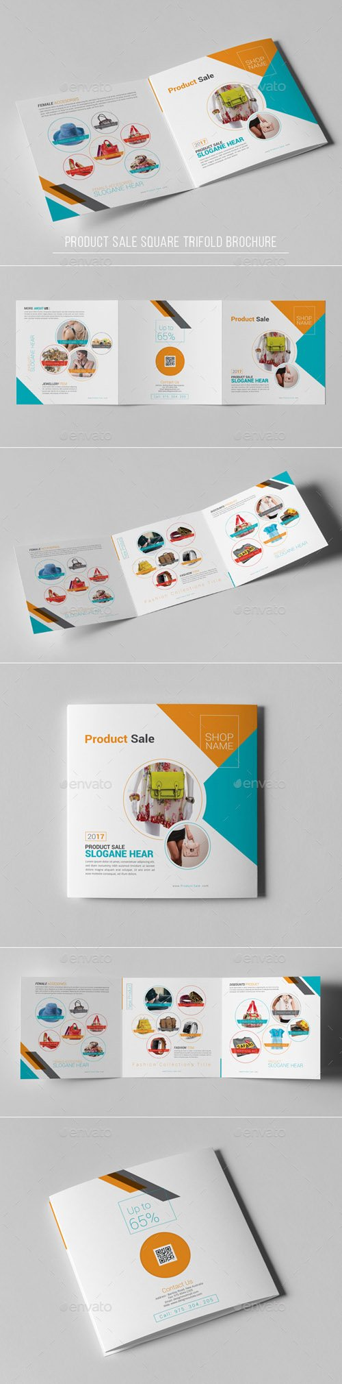 Product Sale Square Trifold Brochure 19307235