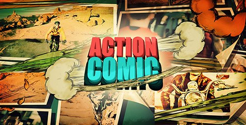 Action Comic 10190279 - Project for After Effects (Videohive)