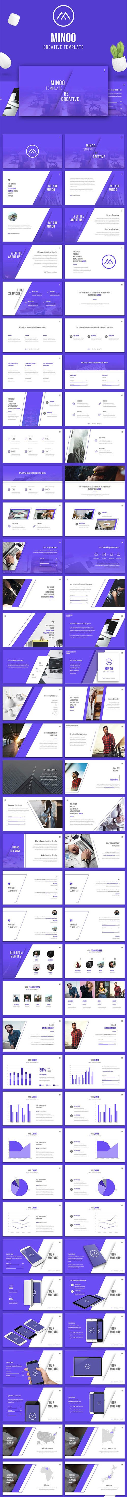 Creative Presentation Template for PowerPoint & Keynote (90+ Slides)