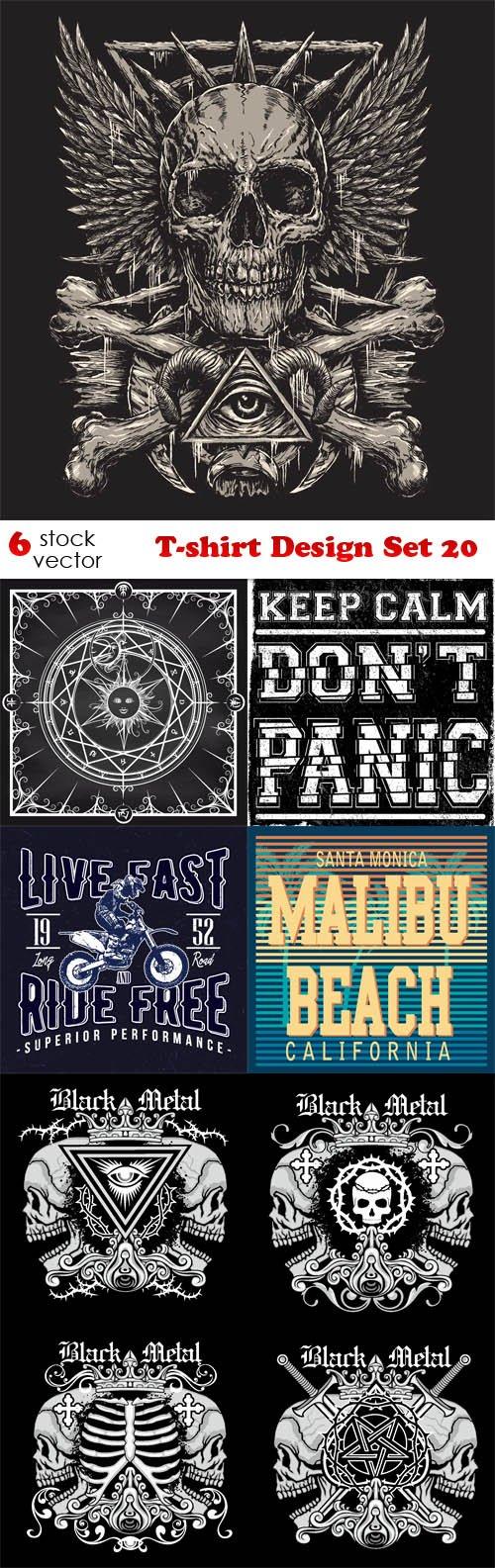 Vectors - T-shirt Design Set 20