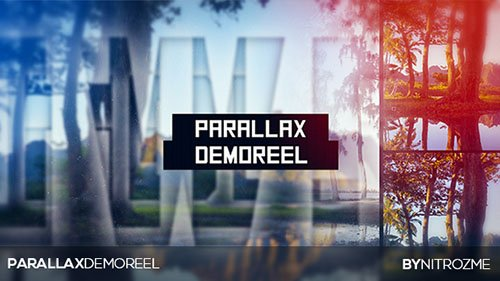 Parallax Demo Reel - Project for After Effects (Videohive)