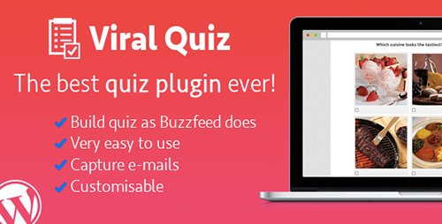 CodeCanyon - Wordpress Viral Quiz v2.17 - BuzzFeed Quiz Builder - 11178623