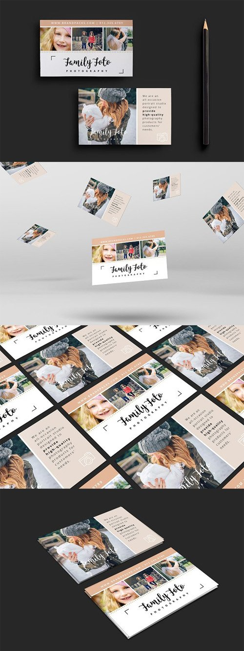 Family Photographer Business Card 1347753