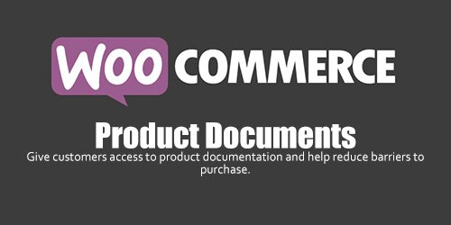WooCommerce - Product Documents v1.7.0