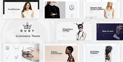 ThemeForest - Ruby v1.0 - Jewelry Store Responsive Opencart Theme - 19647786