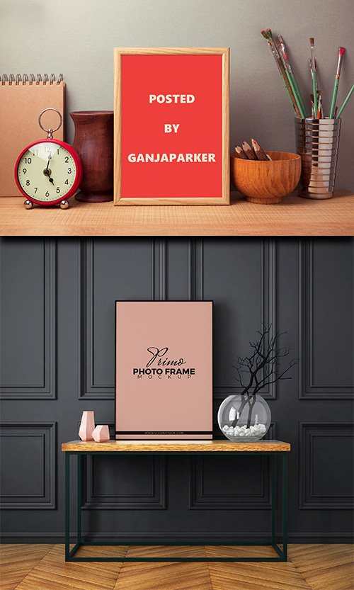 PSD Mock-Ups - Photo Frame 2017 Vol.1
