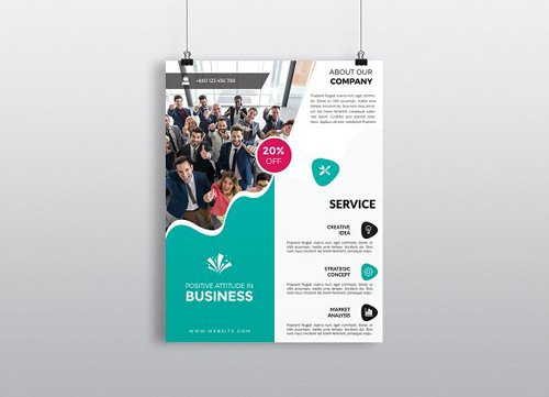 CM - Business Flyer Template 1395908