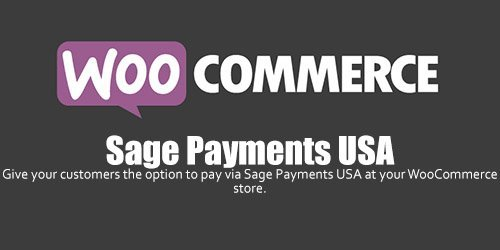 WooCommerce - Sage Payments USA v1.1.0