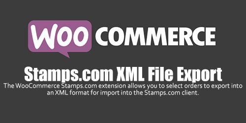 WooCommerce - Stamps.com XML File Export v2.6.0