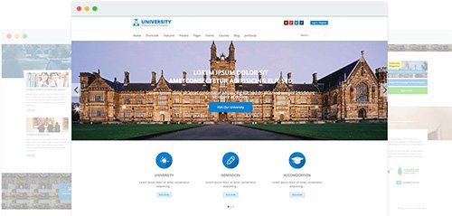 JoomShaper - University v1.6 - Education College Joomla Template