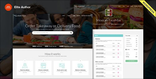 ThemeForest - QuickFood v1.2.1 - Delivery or Takeaway Food WordPress Theme - 16729757