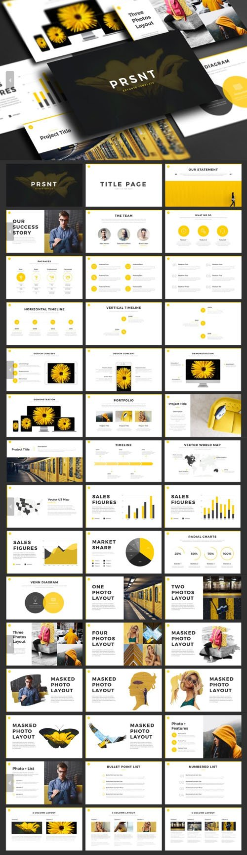 PRSNT PowerPoint & Keynote Templates