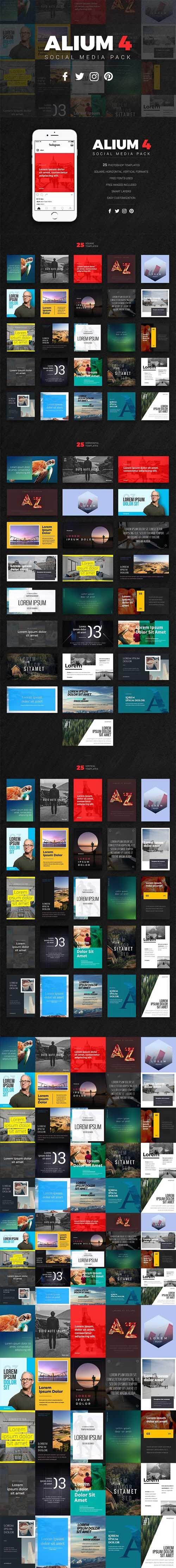 ALIUM 4 | Social Media Pack