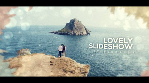 Lovely Ink Parallax Slideshow | Opener - Project for After Effects (Videohive)