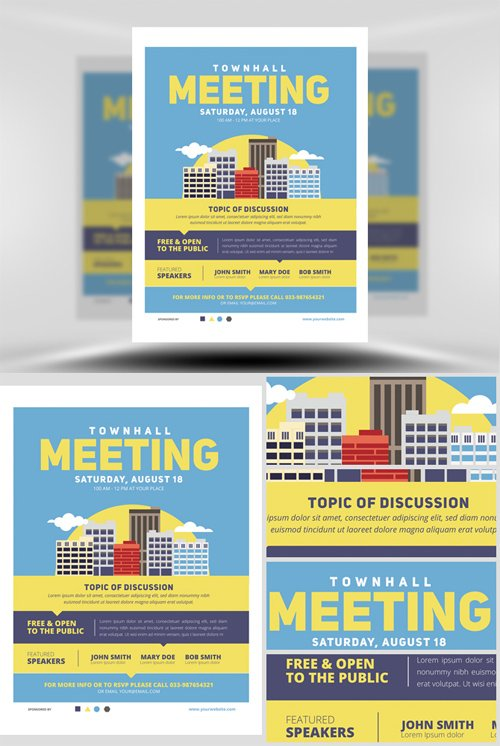 Flyer Template - Community Meeting v2