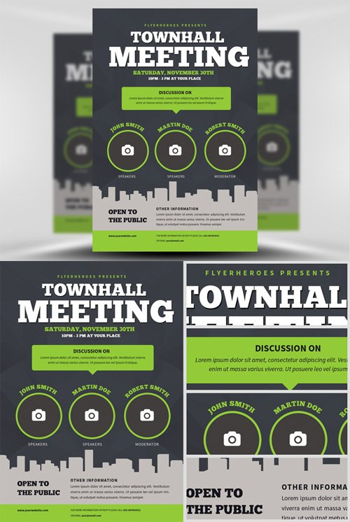 Flyer Template - Community Meeting
