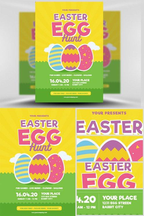 Flyer Template - Easter Egg Hunt v3