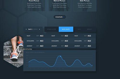Fitness Web App - Stats Report