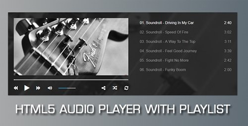 CodeCanyon - Audio Player with Playlist v1.9.2 - 16698456