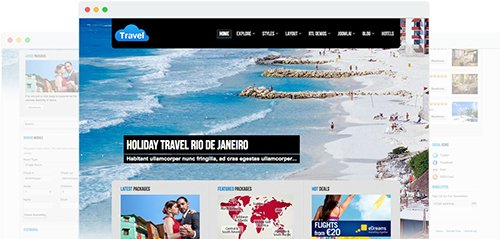 JoomShaper - Travel v1.2 - Joomla Tourism Template