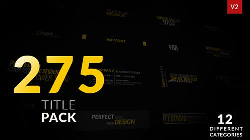 Titles 19267060 - Project for After Effects (Videohive)