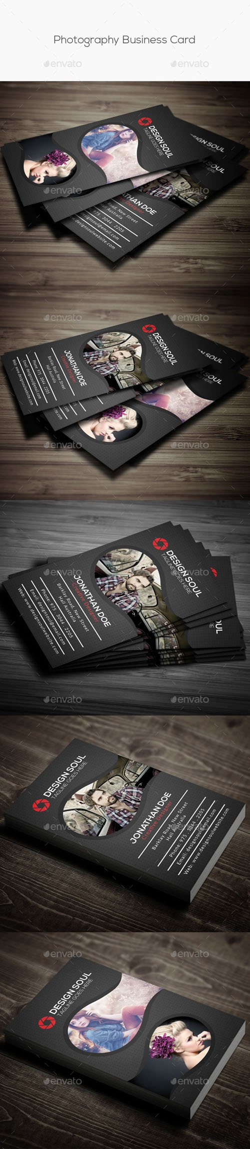 Photography Business Card 14577322