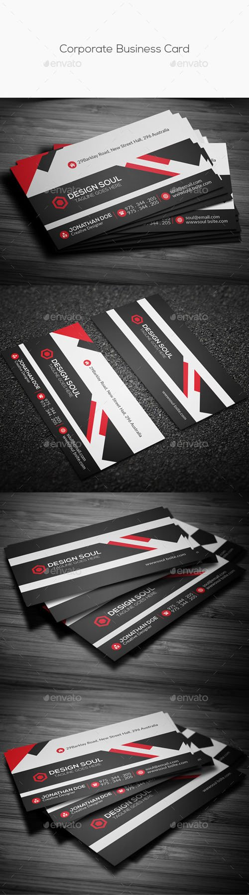 Corporate Business Card 14315028